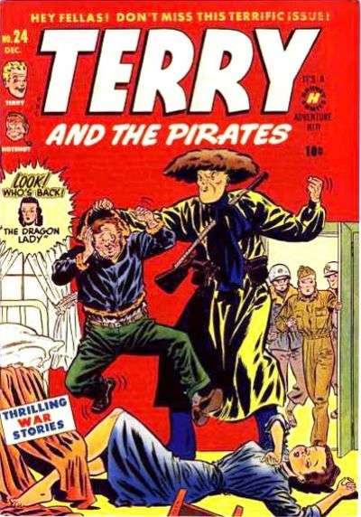 Terry and the Pirates #24 comic books for sale
