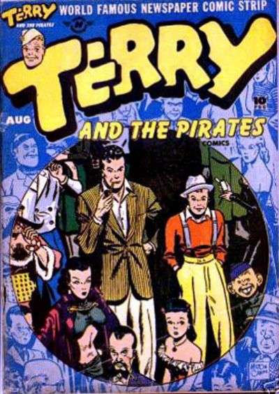 Terry and the Pirates #5 comic books for sale