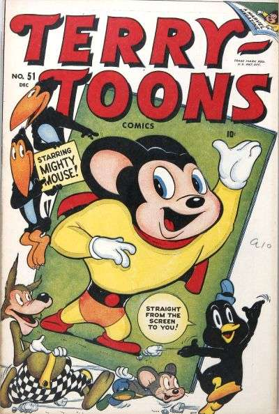 Terry-Toons Comics #51 comic books for sale