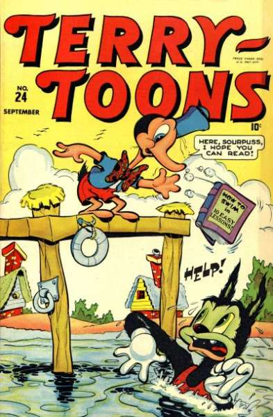 Terry-Toons Comics #24 comic books - cover scans photos Terry-Toons Comics #24 comic books - covers, picture gallery