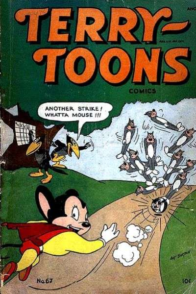 Terry-Toons Comics #67 comic books for sale