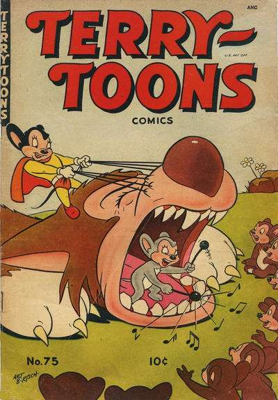 Terry-Toons Comics #75 comic books for sale