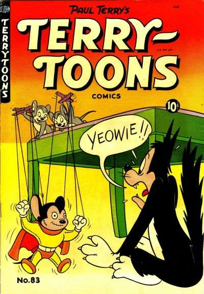 Terry-Toons Comics #83 comic books - cover scans photos Terry-Toons Comics #83 comic books - covers, picture gallery