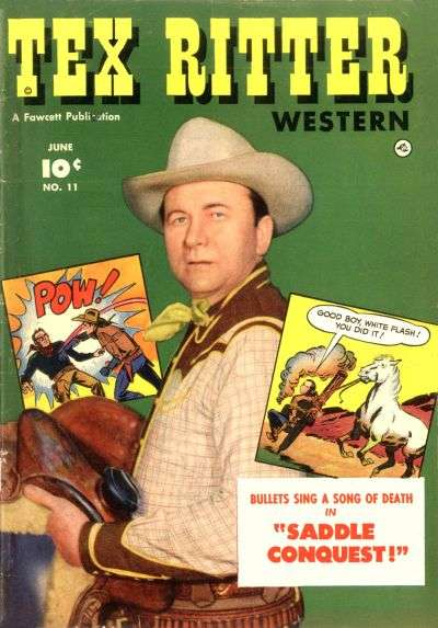 Tex Ritter Western #11 Comic Books - Covers, Scans, Photos  in Tex Ritter Western Comic Books - Covers, Scans, Gallery