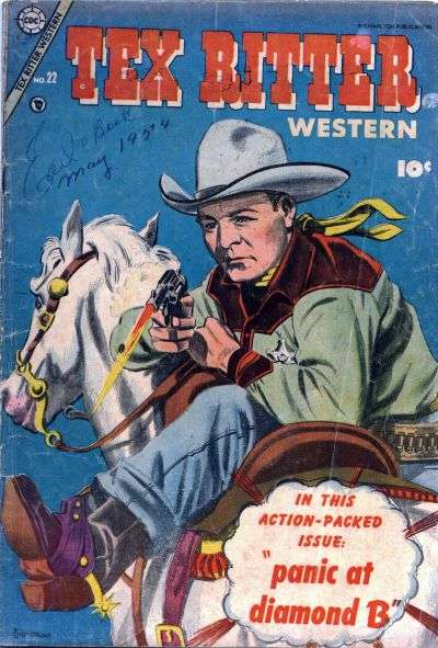 Tex Ritter Western #22 comic books for sale
