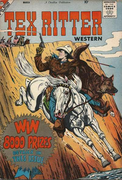Tex Ritter Western #45 Comic Books - Covers, Scans, Photos  in Tex Ritter Western Comic Books - Covers, Scans, Gallery