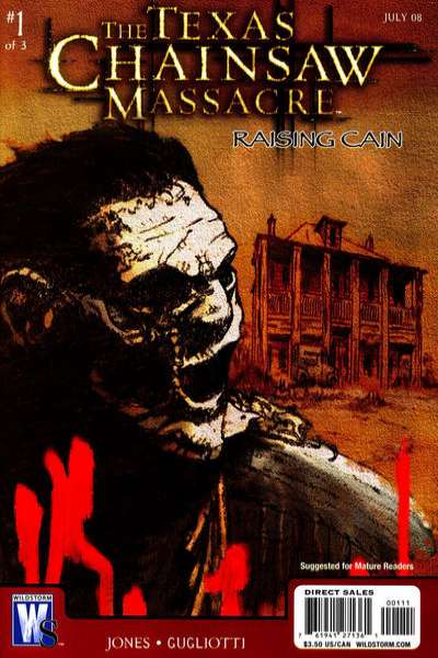 Texas Chainsaw Massacre: Raising Cain comic books