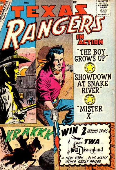Texas Rangers in Action #21 Comic Books - Covers, Scans, Photos  in Texas Rangers in Action Comic Books - Covers, Scans, Gallery