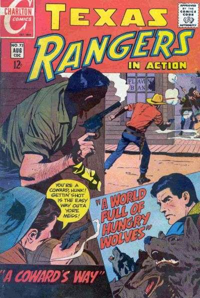 Texas Rangers in Action #73 comic books for sale
