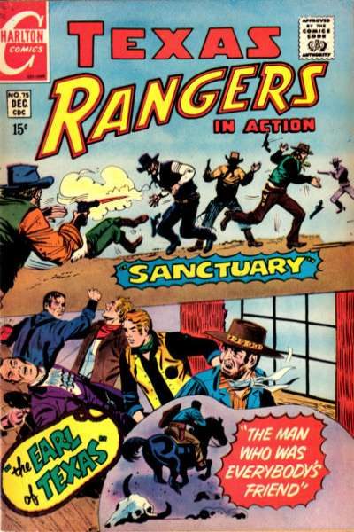 Texas Rangers in Action #75 comic books for sale