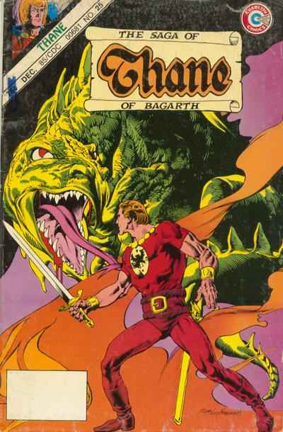 Thane of Bagarth #25 comic books - cover scans photos Thane of Bagarth #25 comic books - covers, picture gallery