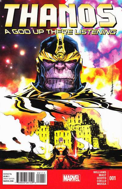 Thanos: A God Up There Listening Comic Books. Thanos: A God Up There Listening Comics.
