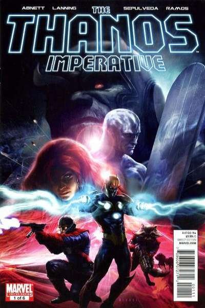 Thanos Imperative comic books