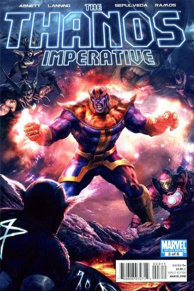 Thanos Imperative #3 Comic Books - Covers, Scans, Photos  in Thanos Imperative Comic Books - Covers, Scans, Gallery