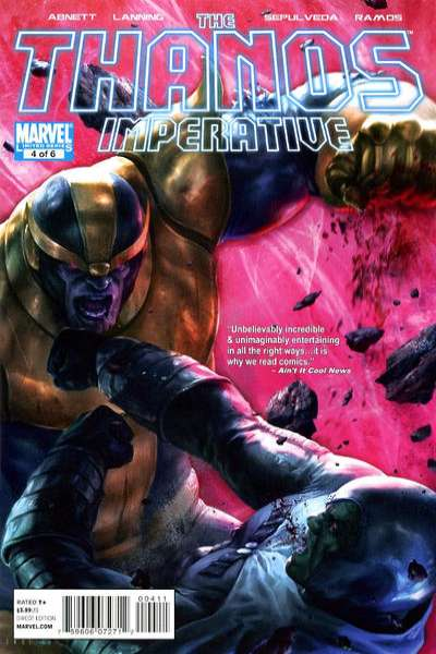 Thanos Imperative #4 Comic Books - Covers, Scans, Photos  in Thanos Imperative Comic Books - Covers, Scans, Gallery