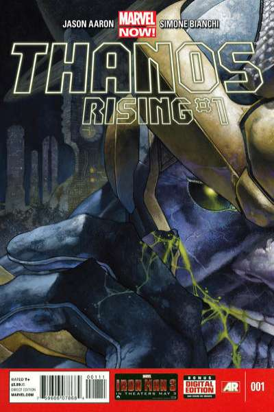 Thanos Rising #1 comic books for sale