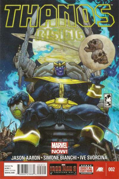 Thanos Rising #2 comic books for sale