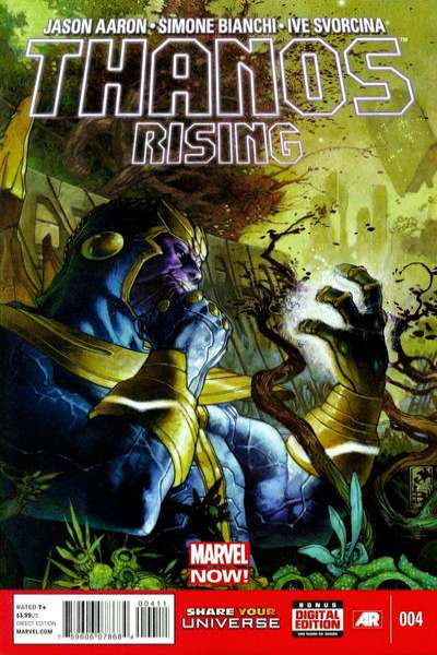 Thanos Rising #4 comic books for sale
