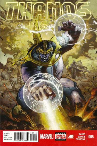 Thanos Rising #5 comic books for sale