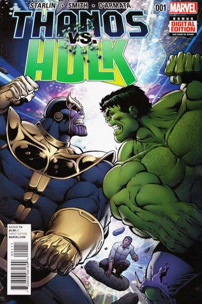 Thanos vs. Hulk Comic Books. Thanos vs. Hulk Comics.