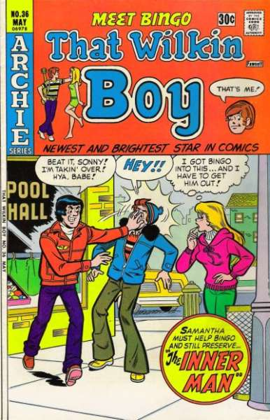 That Wilkin Boy #36 comic books for sale