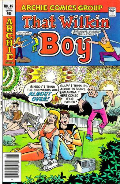 That Wilkin Boy #45 Comic Books - Covers, Scans, Photos  in That Wilkin Boy Comic Books - Covers, Scans, Gallery