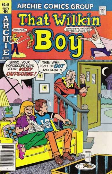 That Wilkin Boy #46 comic books - cover scans photos That Wilkin Boy #46 comic books - covers, picture gallery