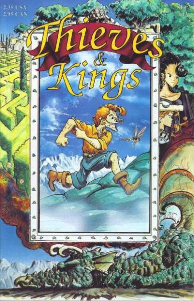 Thieves & Kings #13 Comic Books - Covers, Scans, Photos  in Thieves & Kings Comic Books - Covers, Scans, Gallery