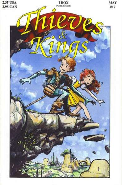Thieves & Kings #17 Comic Books - Covers, Scans, Photos  in Thieves & Kings Comic Books - Covers, Scans, Gallery