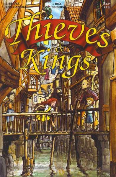 Thieves & Kings #19 Comic Books - Covers, Scans, Photos  in Thieves & Kings Comic Books - Covers, Scans, Gallery