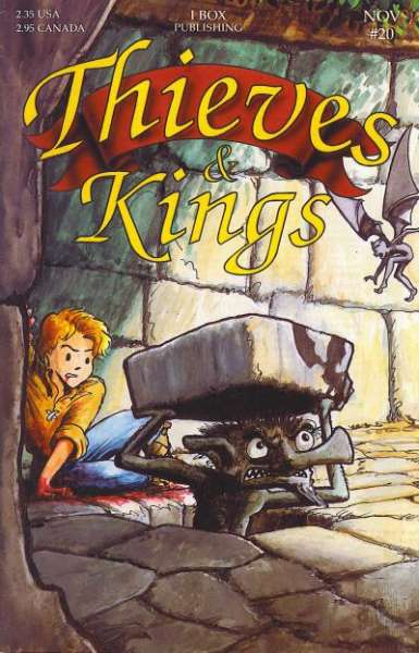 Thieves & Kings #20 Comic Books - Covers, Scans, Photos  in Thieves & Kings Comic Books - Covers, Scans, Gallery