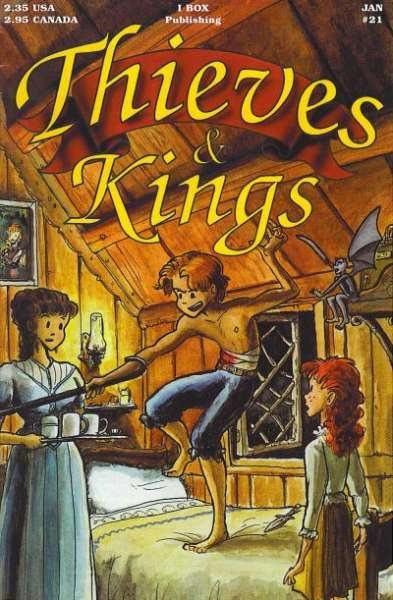 Thieves & Kings #21 Comic Books - Covers, Scans, Photos  in Thieves & Kings Comic Books - Covers, Scans, Gallery