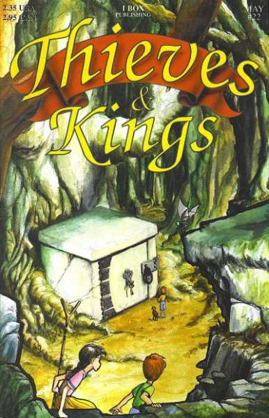 Thieves & Kings #22 Comic Books - Covers, Scans, Photos  in Thieves & Kings Comic Books - Covers, Scans, Gallery