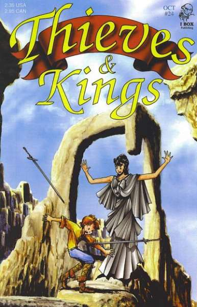Thieves & Kings #24 Comic Books - Covers, Scans, Photos  in Thieves & Kings Comic Books - Covers, Scans, Gallery