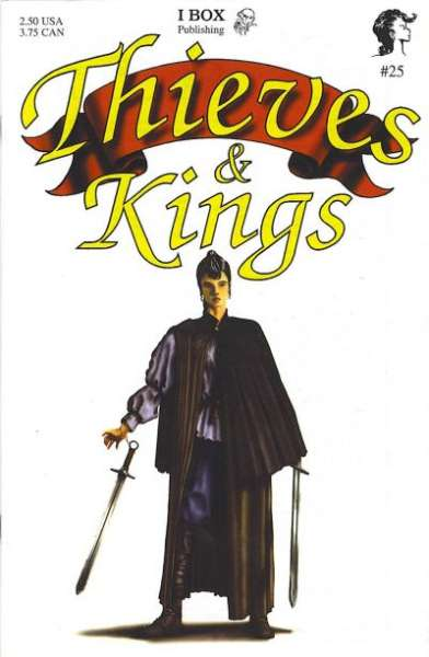 Thieves & Kings #25 Comic Books - Covers, Scans, Photos  in Thieves & Kings Comic Books - Covers, Scans, Gallery