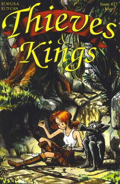 Thieves & Kings #27 Comic Books - Covers, Scans, Photos  in Thieves & Kings Comic Books - Covers, Scans, Gallery