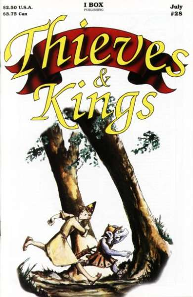 Thieves & Kings #28 Comic Books - Covers, Scans, Photos  in Thieves & Kings Comic Books - Covers, Scans, Gallery