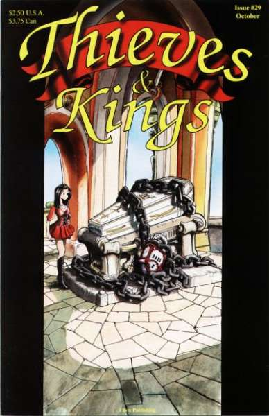 Thieves & Kings #29 Comic Books - Covers, Scans, Photos  in Thieves & Kings Comic Books - Covers, Scans, Gallery