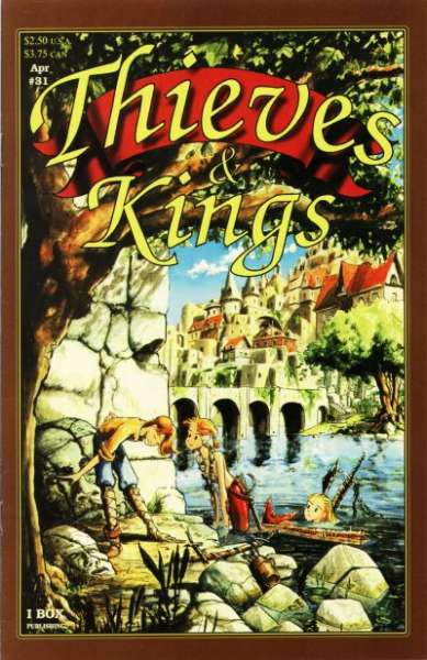 Thieves & Kings #31 Comic Books - Covers, Scans, Photos  in Thieves & Kings Comic Books - Covers, Scans, Gallery