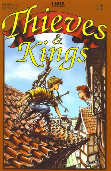 Thieves & Kings #32 Comic Books - Covers, Scans, Photos  in Thieves & Kings Comic Books - Covers, Scans, Gallery