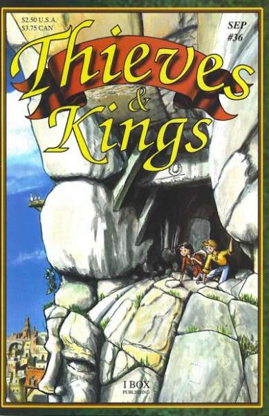 Thieves & Kings #36 Comic Books - Covers, Scans, Photos  in Thieves & Kings Comic Books - Covers, Scans, Gallery