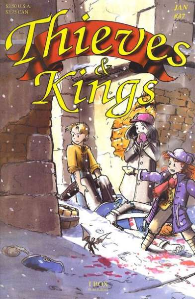 Thieves & Kings #37 comic books for sale