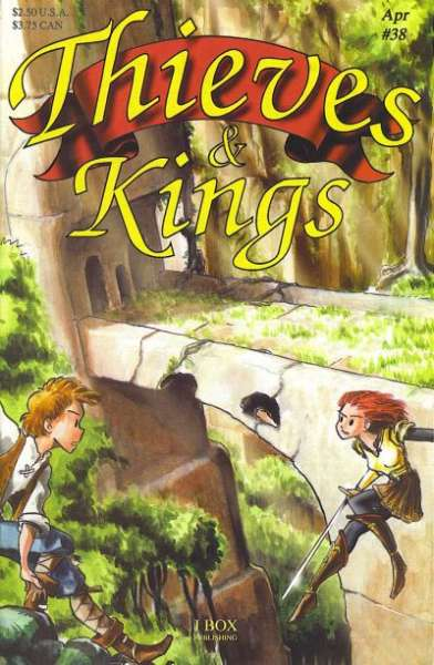Thieves & Kings #38 Comic Books - Covers, Scans, Photos  in Thieves & Kings Comic Books - Covers, Scans, Gallery