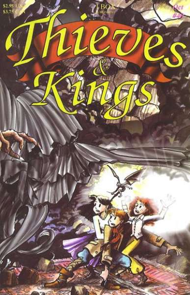 Thieves & Kings #40 Comic Books - Covers, Scans, Photos  in Thieves & Kings Comic Books - Covers, Scans, Gallery