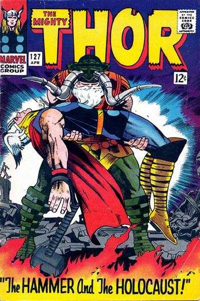 Thor #127 comic books - cover scans photos Thor #127 comic books - covers, picture gallery