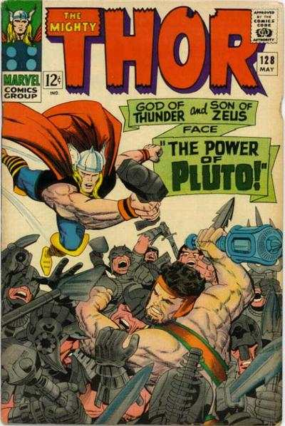 Thor #128 comic books - cover scans photos Thor #128 comic books - covers, picture gallery