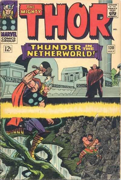 Thor #130 comic books - cover scans photos Thor #130 comic books - covers, picture gallery