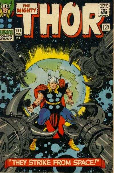 Thor #131 comic books - cover scans photos Thor #131 comic books - covers, picture gallery