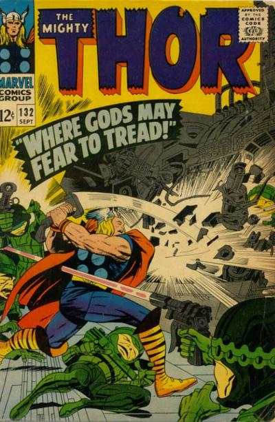 Thor #132 comic books - cover scans photos Thor #132 comic books - covers, picture gallery