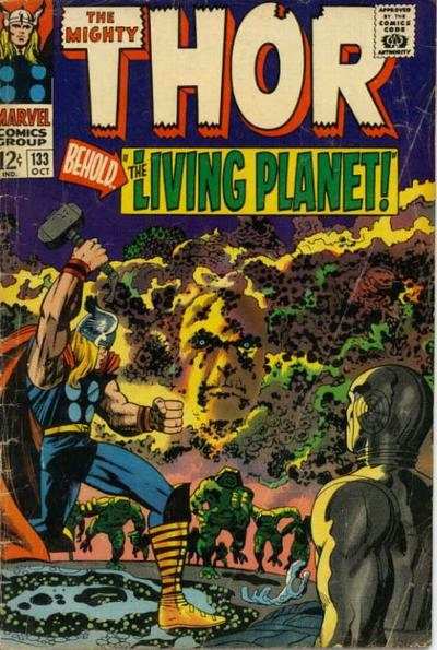 Thor #133 comic books - cover scans photos Thor #133 comic books - covers, picture gallery